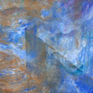 scheerschuim acryl blauw